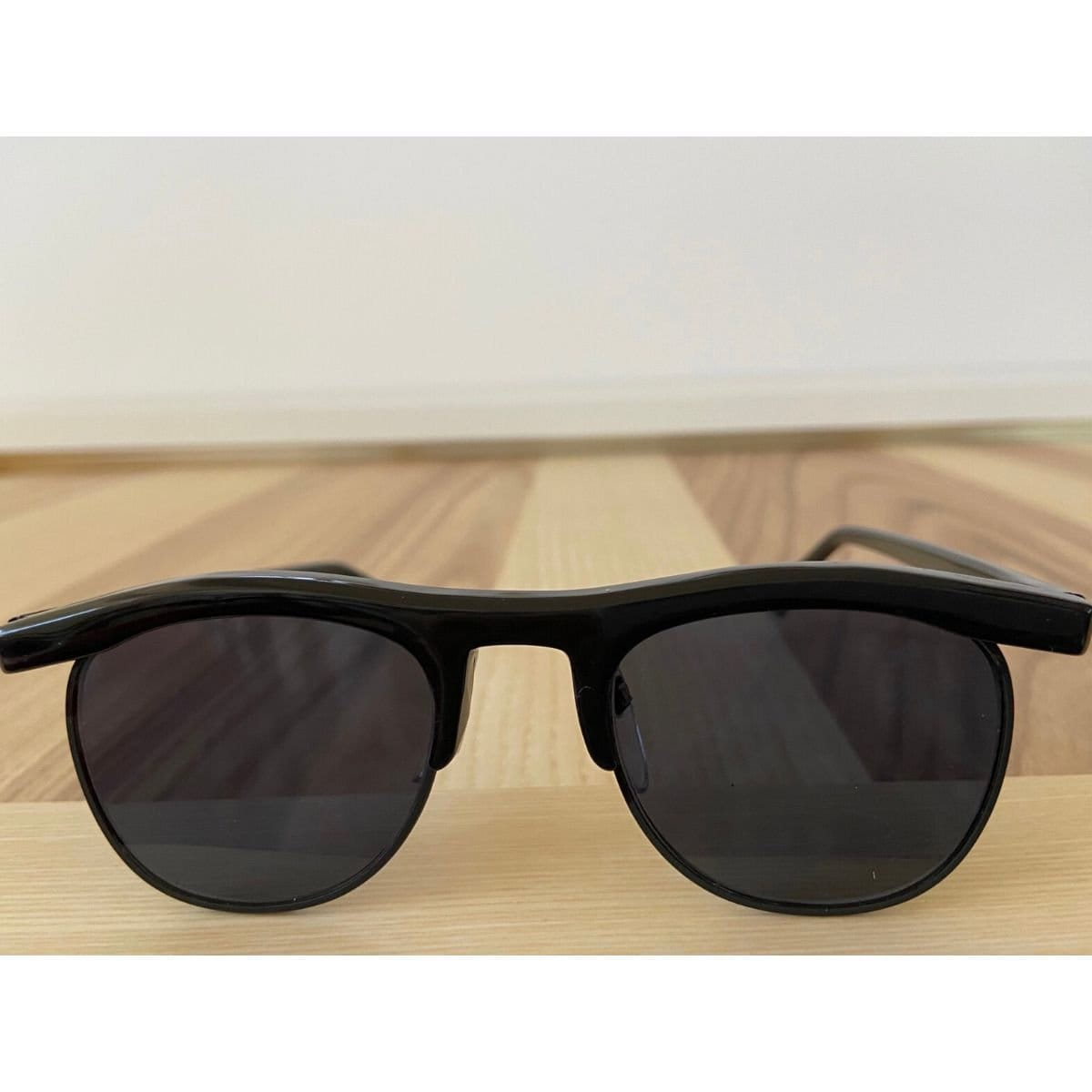 Gafas de sol vintage estilo maestro de club redondo