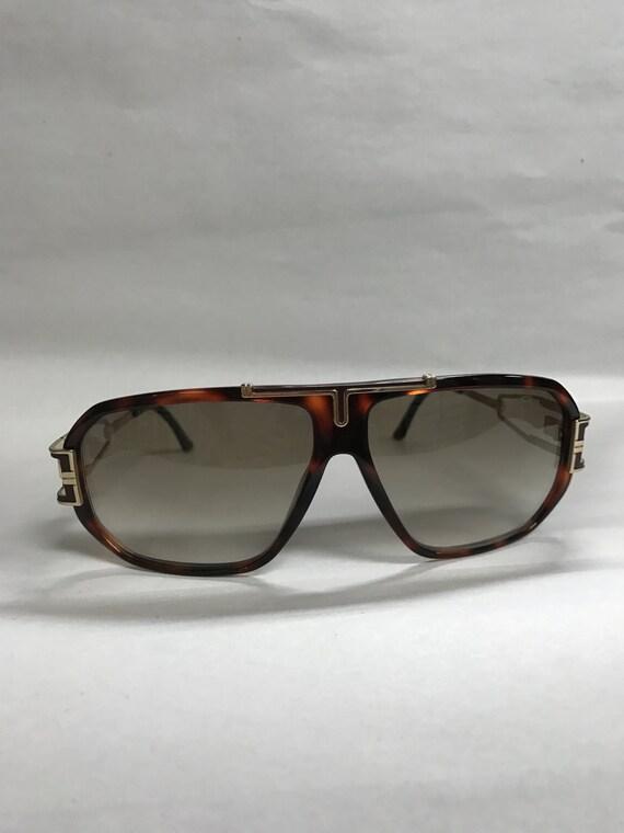 5e280c223db Cazal Tortoise and gold vintage sunglasses