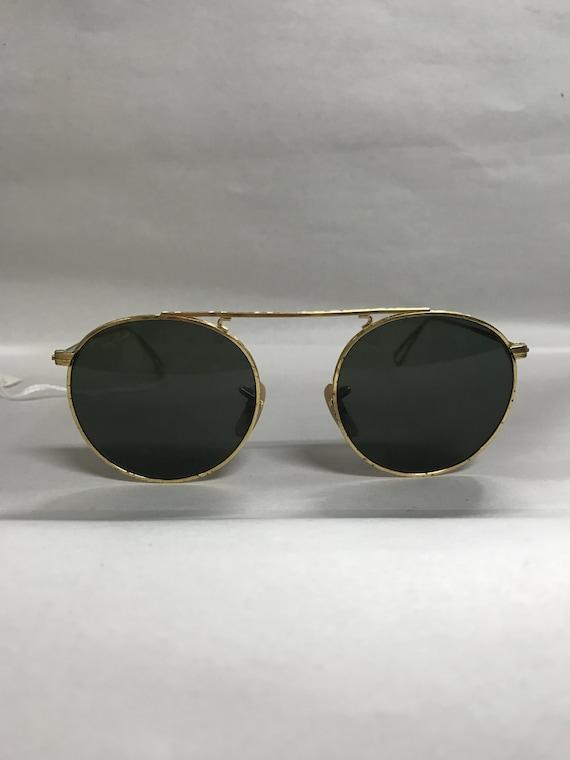 Vintage Ray Ban sunglasses gold
