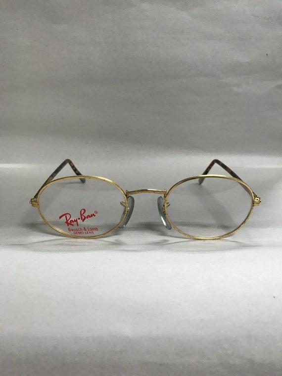 Ray Ban Vintage eyeglasses gold