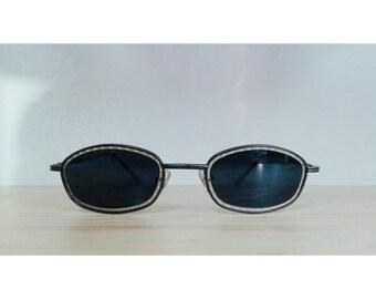 Rectangular Vintage sunglasses black