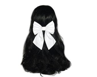 White Hair Bows For Women