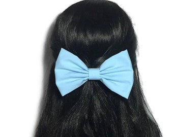 Light Blue Hair Bow