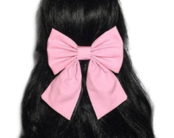 Pink Hair Bow