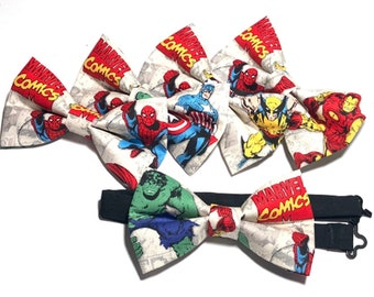 Captain America Bow Tie