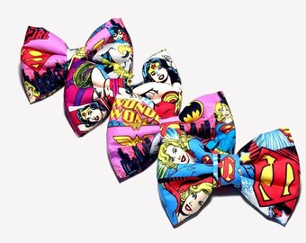 Super Hero Girls Hair Bows