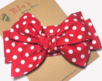 Minnie Mouse Baby Headwrap