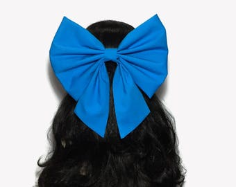 Blue Ariel Cosplay Hair Bow