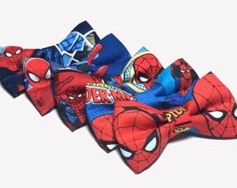 Spiderman Bow Tie