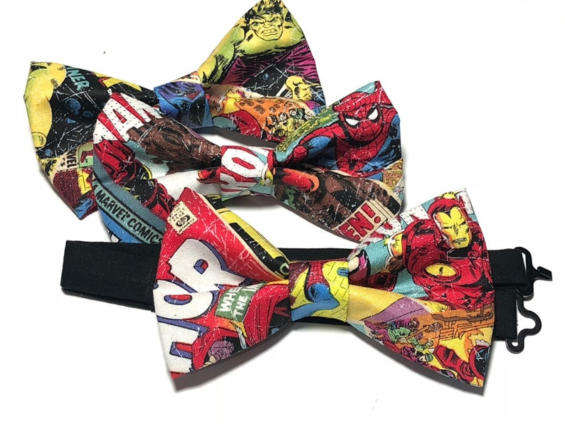 232fc5cf591fa Men Bow Tie, Bow Ties For Men, Mens Ties, Comic Bow Tie, Bow Tie For Kids,  Bow Ties For Boys, Bow Tie For Toddlers, Bow Ties Kids, Bowtie