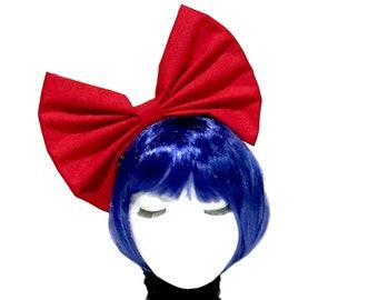 Large Hair Bow, Choose Color, Big Hair Bow, Cosplay Bow, Girls Hair Bow, Large Red Bow, Large Bows, Big Bows, Girls Bows, Cosplay Girl