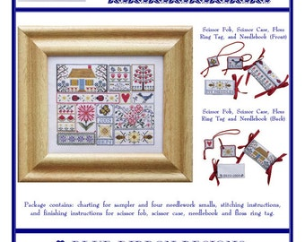 Other Home Arts & Crafts Reasonable Shaker Years Counted Cross Stitch Crafts 135
