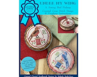 Under My Wing (BRD-119) Counted Cross Stitch Chart – Digital Pattern PDF Download