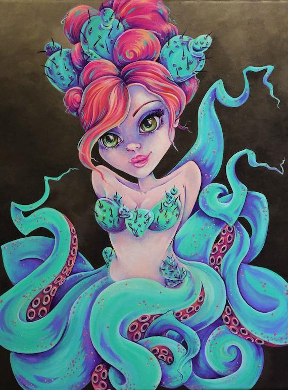 "Sonoran Sirena 8""x10"" Print"