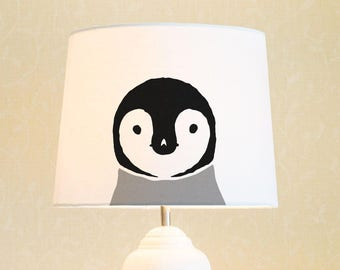 Penguin   Lamp Shade. Diameter 34 Cm (13.4 In), 23 Cm (