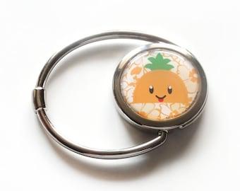 Handbag holder orange Pineapple