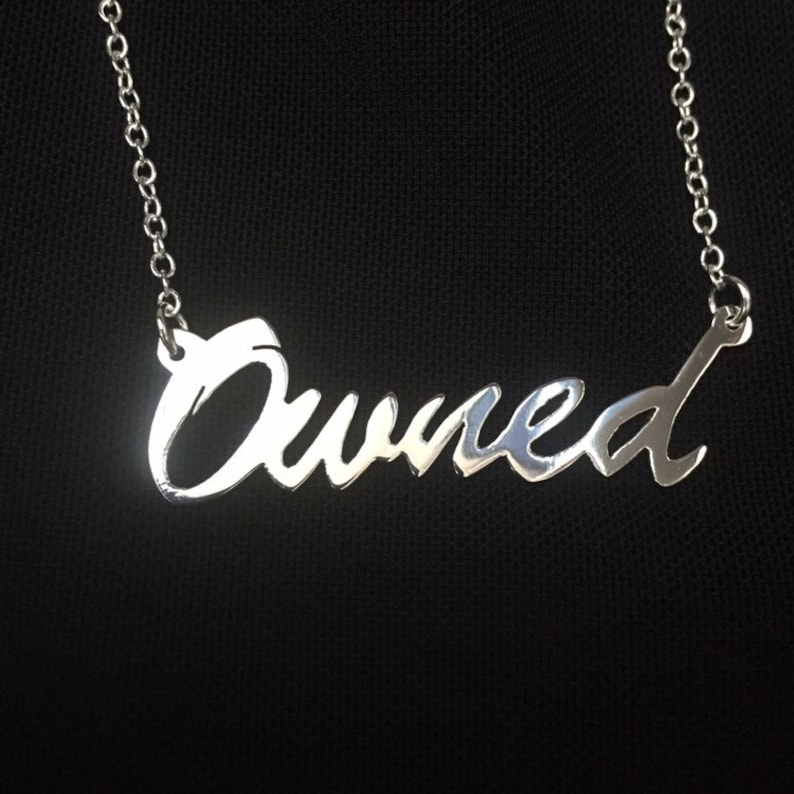 16 'Owned' necklace image 0