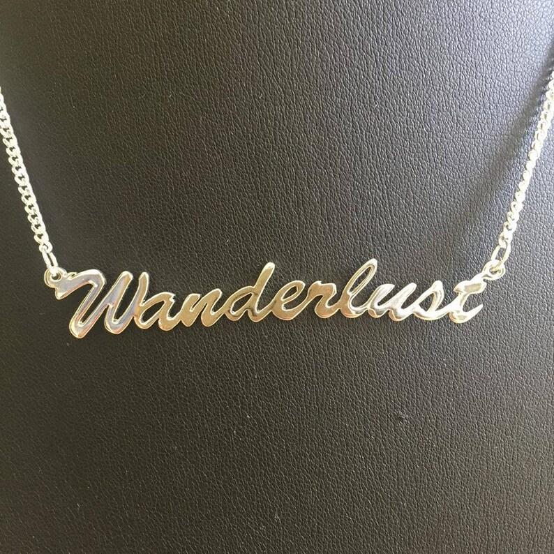 16 'Wanderlust' necklace image 0