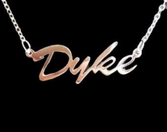 "16"" 'Dyke' necklace"