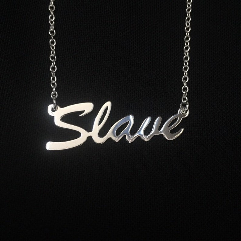 16 'Slave' necklace image 0