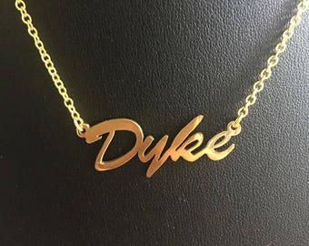 "16"" 'Dyke' necklace"