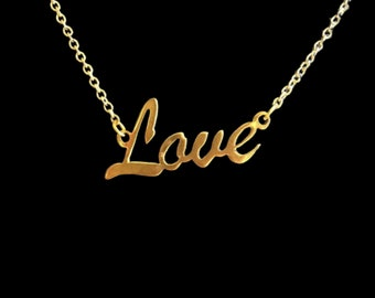 """16"""" 'Love' necklace"""