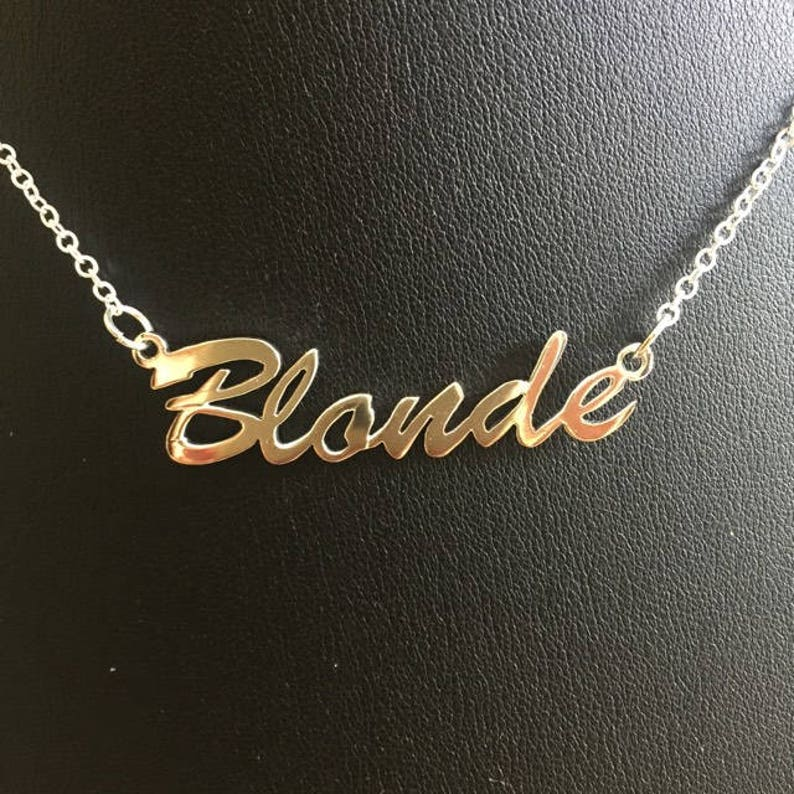 16 'Blonde' necklace image 0