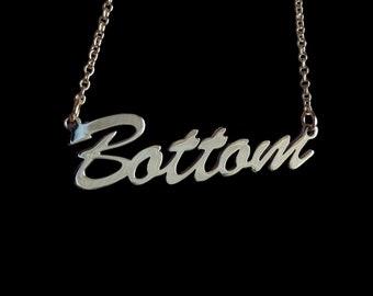 "16"" 'Bottom' necklace"