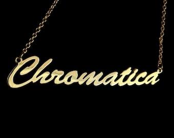 "16"" 'Chromatica' necklace"