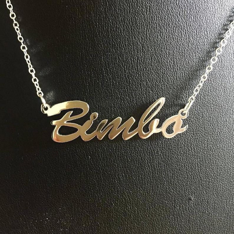 16 'Bimbo' necklace image 0