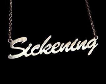 """16"""" 'Sickening' necklace"""