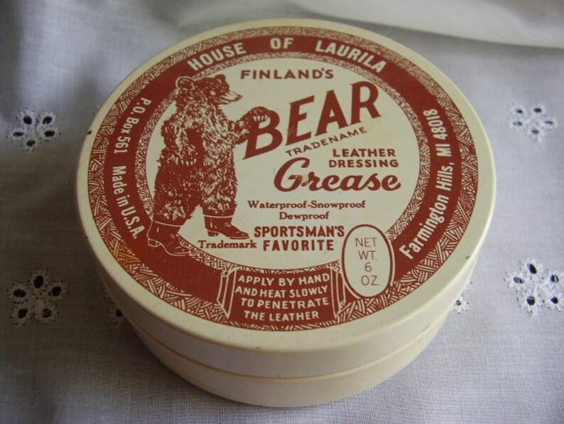 FINLAND/'S BEAR GREASEleather dressingbootshoe