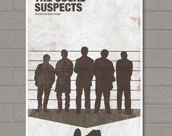 The Usual Suspect Movie Poster Print