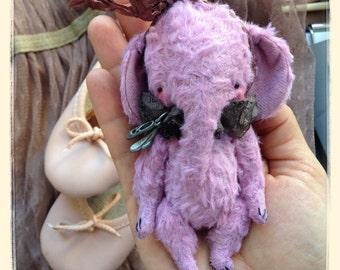 PDF Epattern for 4 inch Pocket Sized Miniature Elephant Mia by Sasha Pokrass