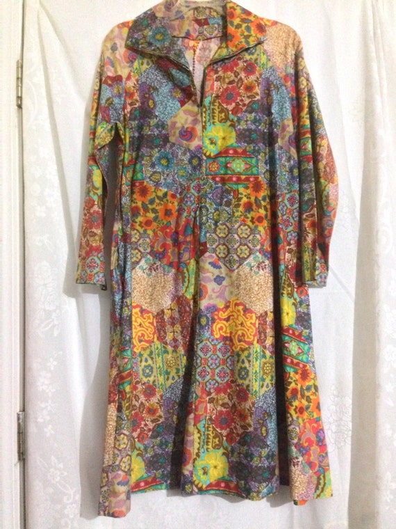 Woodstock Vintage hippie tunic hand made