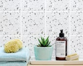 """TILE DECAL / tile stickers- set of 4 - """"Terrazzo 06"""""""