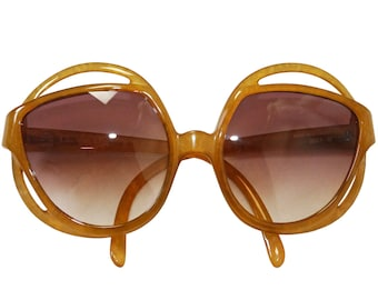 a409760a6a CHRISTIAN DIOR Mod. 2027-10 1970s Vintage Oversized Sunglasses Sunnies  Shades Optyl