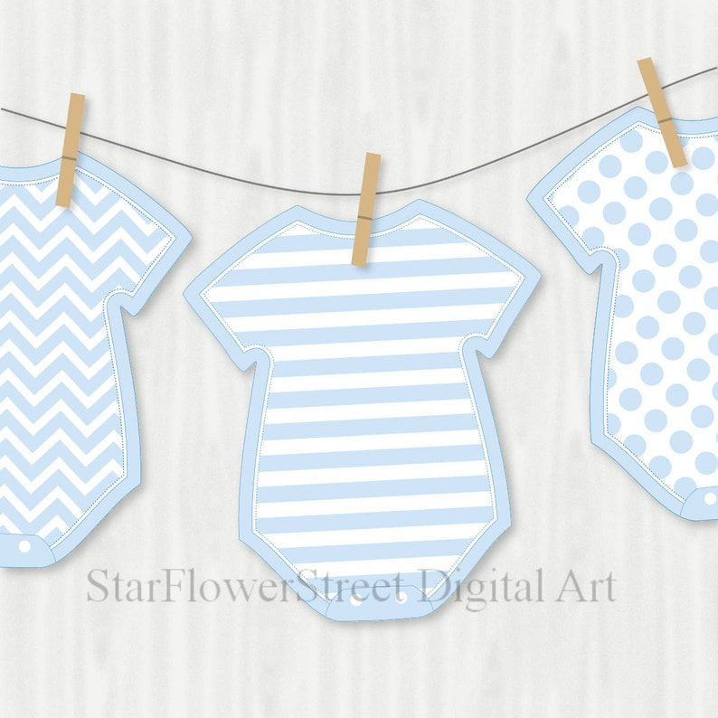 042f57a61 Blue Baby Shower Decorations Banner Wishes for Baby boy cut