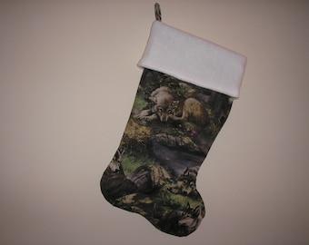 wolves christmas stocking personalized - Camo Christmas Stocking
