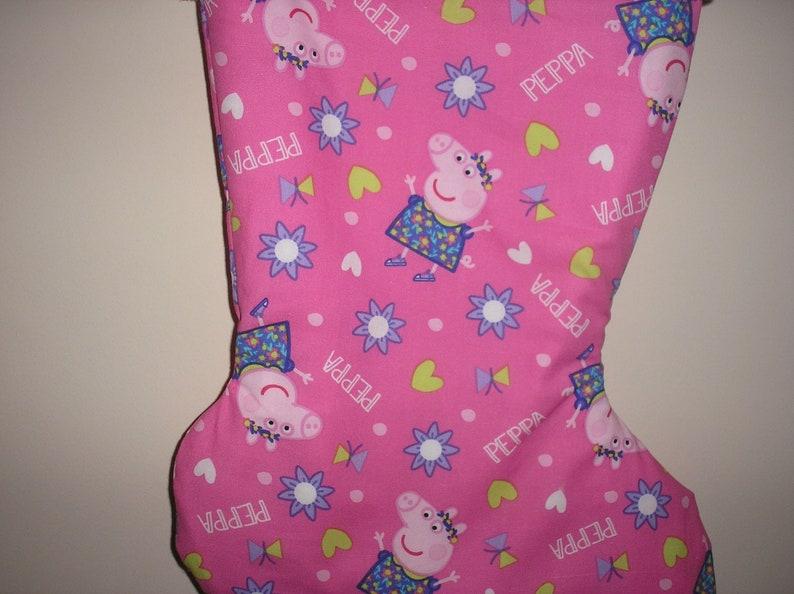 Peppa Pig Personalized Christmas Stocking