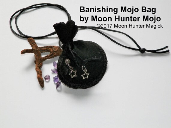 Banishing @sshole Repellent Warding Mojo Bag Moon Hunter Mojo Hand Made
