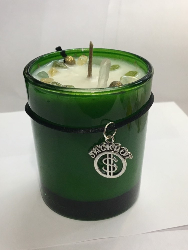 Prosperity Candle Soy Hand Made Candle Lucky Hand Lucky 7