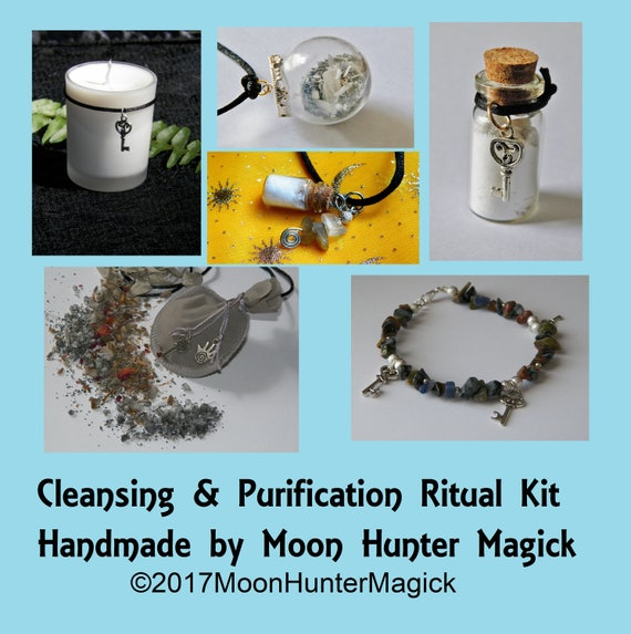Cleansing Ritual Combo Kit Purification Aura Chakra Cleansing Ritual Kit