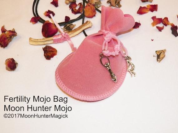 Fertiltiy Mojo Bag Moon Hunter Mojo Hand Made