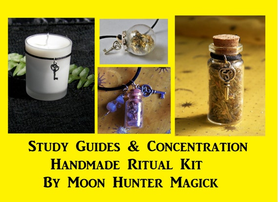 Study Guides Combo Kit Concentration Ritual Focus Exam Ritual Kit