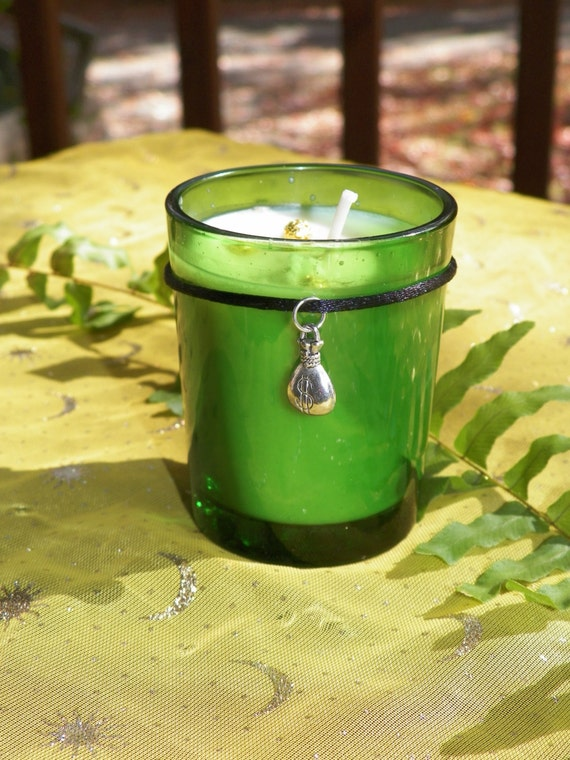 Prosperity Candle Soy Hand Made Candle Lucky Hand Lucky 7 Money Candle