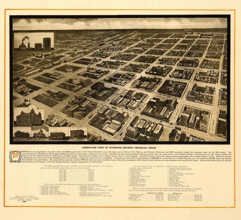 20x30 1878 Seattle Washington Vintage Old Panoramic City Map