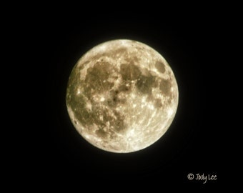 Super Moon, Moon, Nature photography, Moon Photograph, Wall Art, Home Decor, Solar System