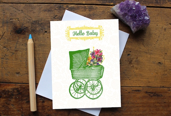 Greeting cards brooke leanne uplifting stationery giftware baby greeting card handmade baby shower card new baby card baby boy or m4hsunfo