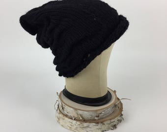 Slouchy knit hat, small/kid's
